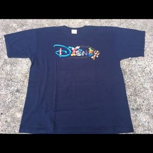 Mickey Mouse Disney Store Blue Tee Shirt Size XL